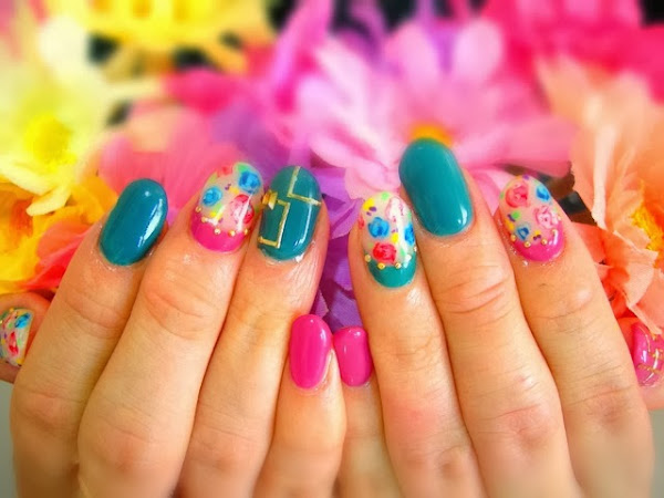 Simple Nail Art Designs For Summer 2012 D Simple Summer Nail Designs