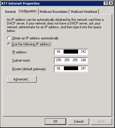 oakleaf systems changing at t dsl fixed ip addresses to dhcp to rh oakleafblog blogspot com