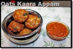 Oats Kaara Appam