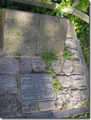Junction marker plaque