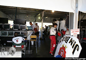 Johnson Racing garage
