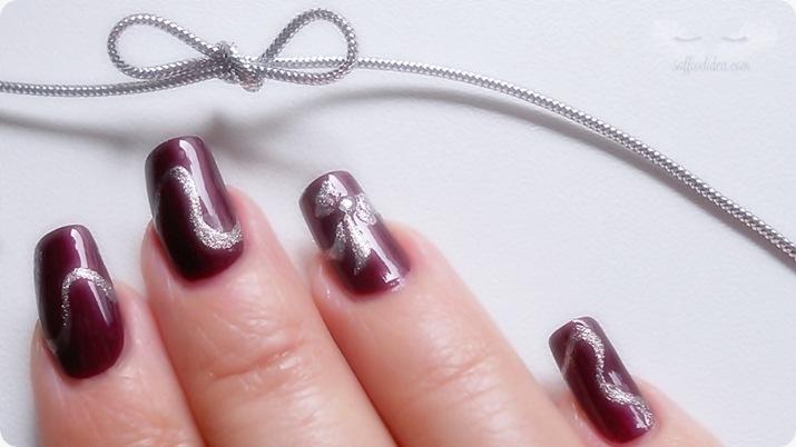 nailart - soffio di dea - soffiodidea - fiocco - nail art - 3a