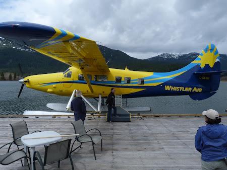 Zbor peste Stancosi: hidroavion Whistler
