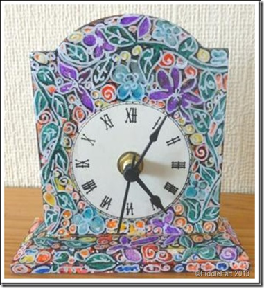 Poundland Altered Clock. 3