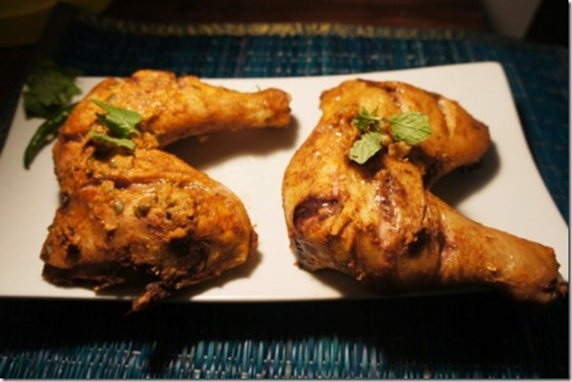 oil free tandoori chicken