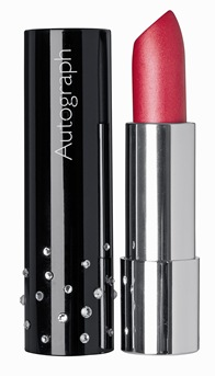 Autograph Moisture Colour Lipstick Made with SWAROVSKI ELEMENTS - Raspberry