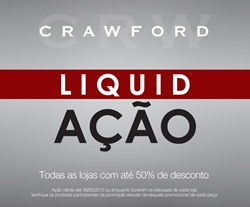 Crawford em Liquidação Verão 2012 com até 50% de desconto.