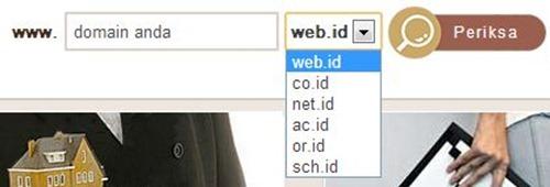 nama domain dot id yang bisa didaftarkan via registrar --