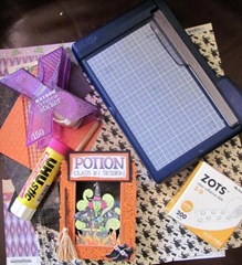 AAWA 10.2011 potion card shadow box supplies10