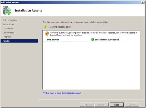 DNS INSTALLATION AND CONFIGURATION (7)