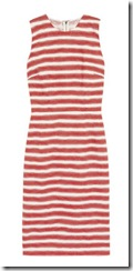 Dolce & Gabbana Striped Jacquard Dress