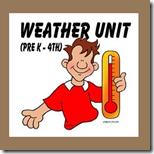 1st Grade Weather Unit