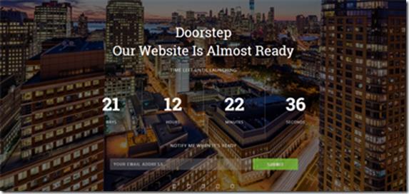doorstep-blogger-template