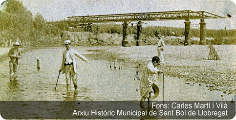 1903 - Un dels nens és Jordi Rubió i Balaguer