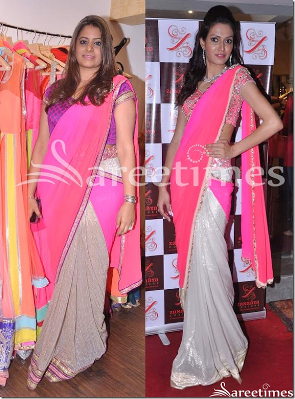 Pink_Silver_Half_and_Half_Saree
