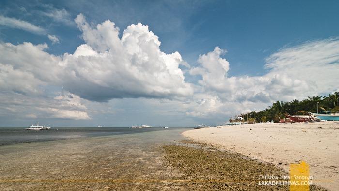 Low Tide at Malapascua's Bounty Beach