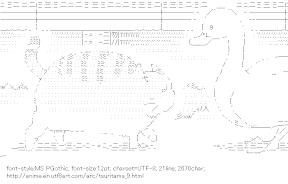 [AA]Cat & Duck (Tsuritama)