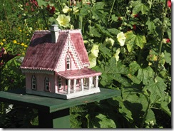 pink house in karls garden