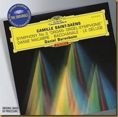 Saint Saens Organo Barenboim