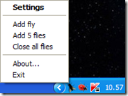 Fly on Desktop