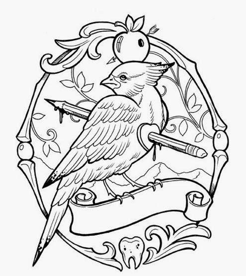 Tatuaggi e disegni disegni tattoo flash stencil for Aggie coloring pages