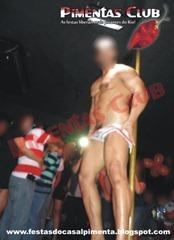 Stripper Homem Beringela