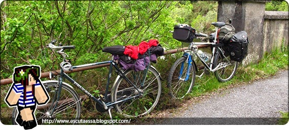 Conhecendo a Irlanda de bicicleta
