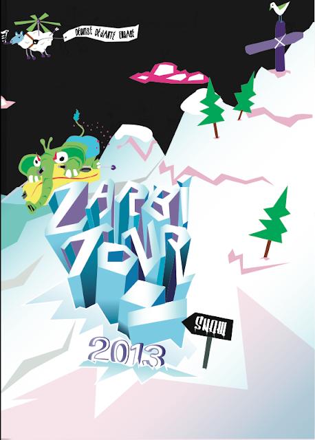 ZARBI SNOW 2013 à Gourette