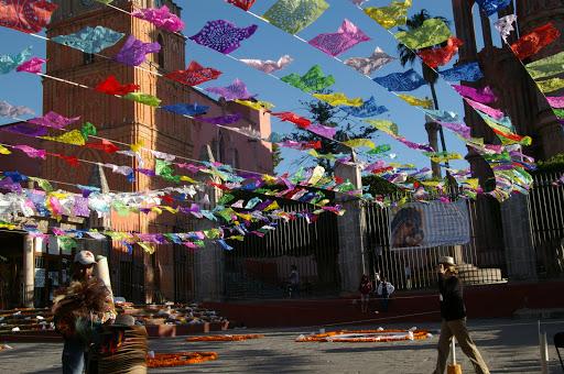 Dia de los Muertos in San Miguel de Allende