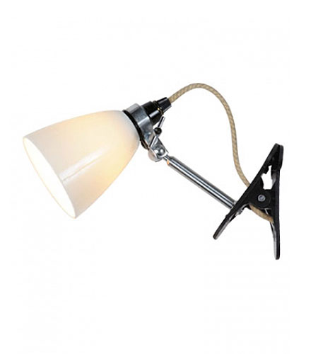 I remember staying up late reading in bed at camp, under the type of lights that clip to the wall or a drawer. This would be useful in a child's room for a little extra light. (brookfarmgeneralstore.com)