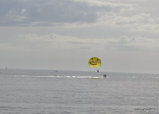 Parasailing at Fort Myers Beach