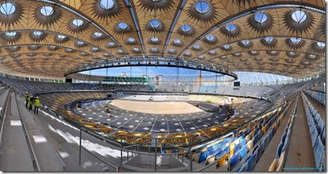 stadionul olimpic NSC kIEV-EURO 2012