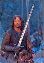 Aragorn the heir of Isildur & righteous hero amongst men