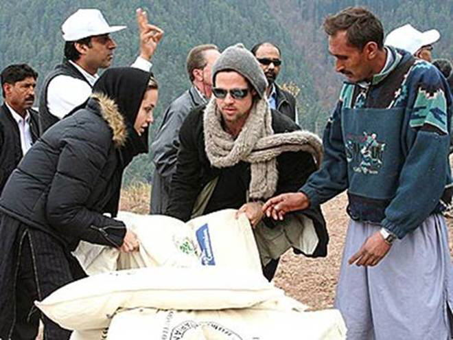 Angelina Jolie Goodwill Ambassador of United Nations High Commissioner for Refugees (UNHCR) : Pakistan visit