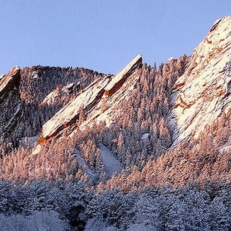 Flatirons of Green Mountain, Colorado