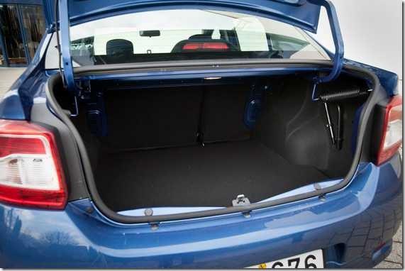 Dacia Logan Sedan test 07