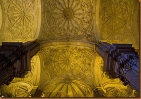 Malaga, sanctuary ceiling