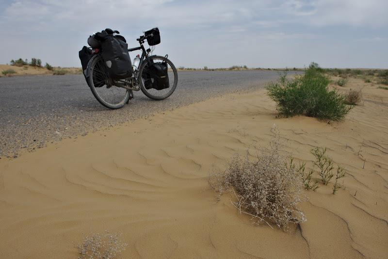 Prima intalnire cu dunele.