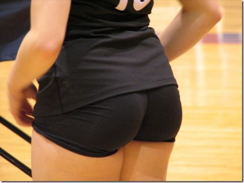 sexy girls volleyball shorts 7
