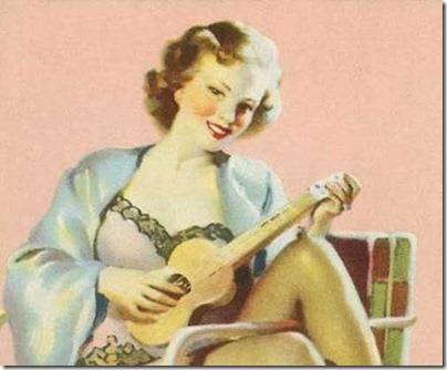 Lingerie-ukulele