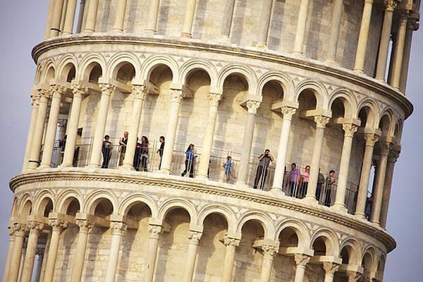 2- A Torre de Pisa