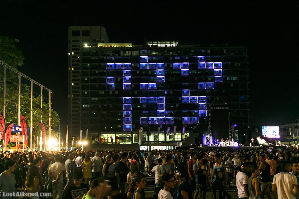 Тель Авив. Белая Ночь