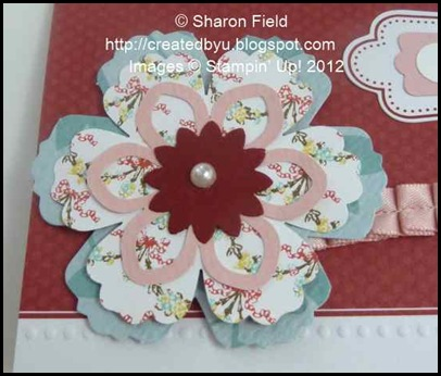 attic boutique blossom punch and cherry cobbler boho blossom punch layered wtih die cuts