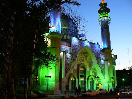 Obiective turistice Iran: Moschee din Teheran