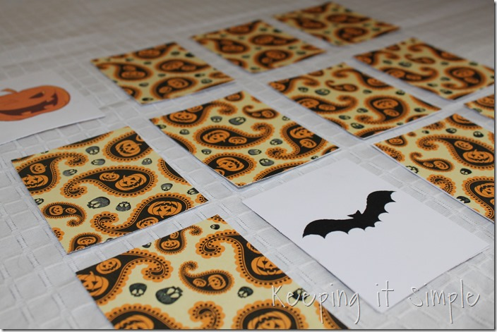 Halloween Memory Card Game (6)