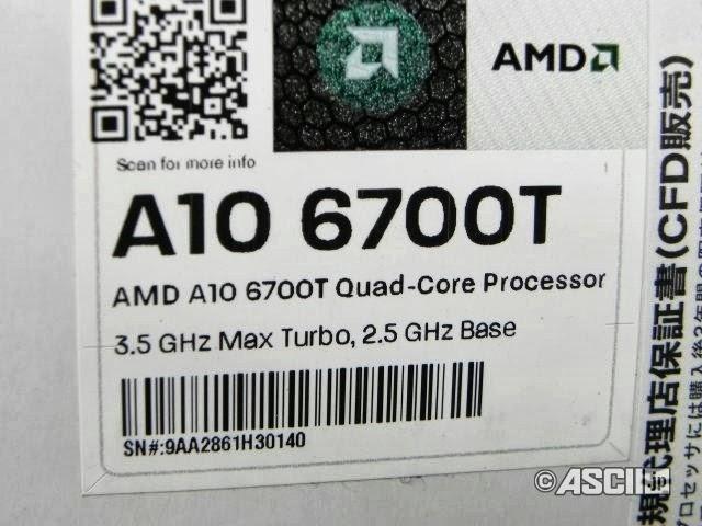 AMD A10 6700T
