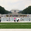 WWII and Lincoln Memorial