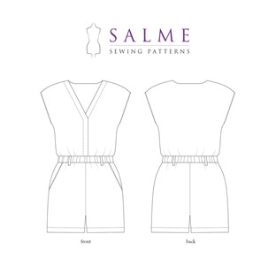 salme playsuit