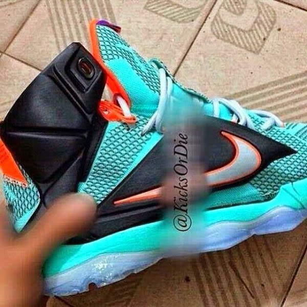 Nike LeBron XII 12 Side View New Sample
