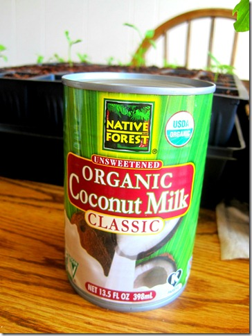 coconut milk 1